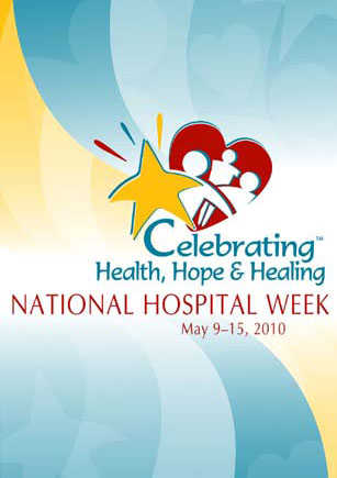 AHA National Hospital Week Poster 2010