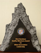 Dick Davidson Quality Milestone Award for Allied Association Leadership