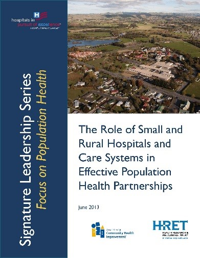 role of small rural hospitals