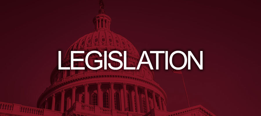 "red background with white text that says ""legislation"""