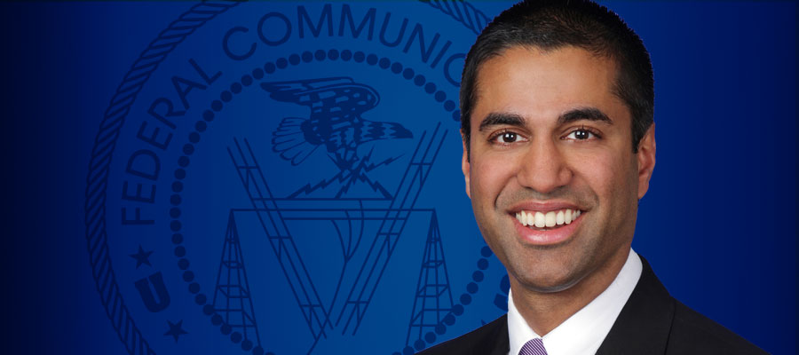Image of FCC Chairman Ajit Pai