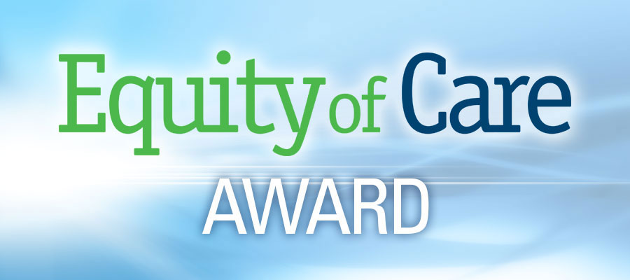 Equity of Care Award logo