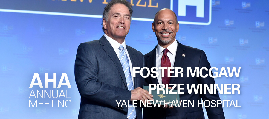 Yale New Haven Hospital Receives Foster McGaw Prize | AHA News
