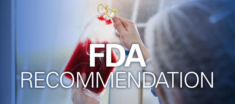 FDA recommendation