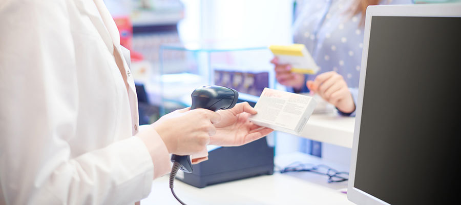 Patient buying medications from doctor