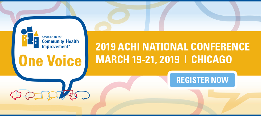 2019 ACHI National Conference banner