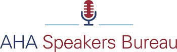 AHA Speakers Bureau Logo