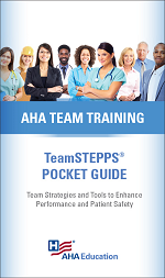 TeamSTEPPS Pocket Guide Cover