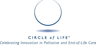 Circle of Life Award: Celebrating Innovation in Palliative and End-of-Life Care logo