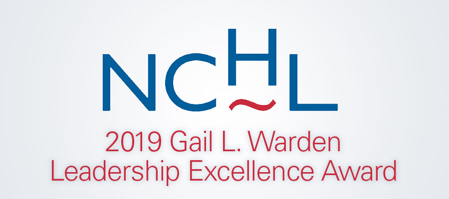 2019 Gail L. Warden Leadership Excellence Award