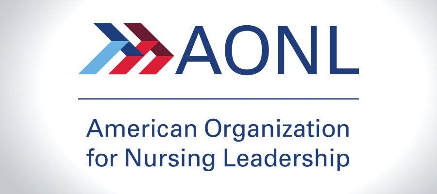 American Organization for Nursing Leadership logo