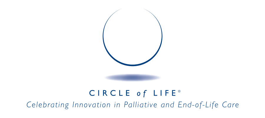 Circle of Life logo. Celebrating Innovation in Palliative and End-of-Life Care.
