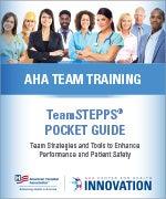 AHA Team Training TeamSTEPPS Pocket Guide Cover