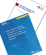 USP <800> Monograph and Risk Readiness Checklist Bundle covers.