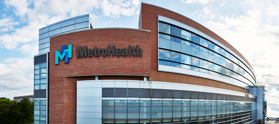 Cleveland-based MetroHealth, Cuyahoga County's public health system.