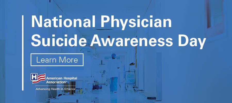 National Physician Suicide Awareness Day logo