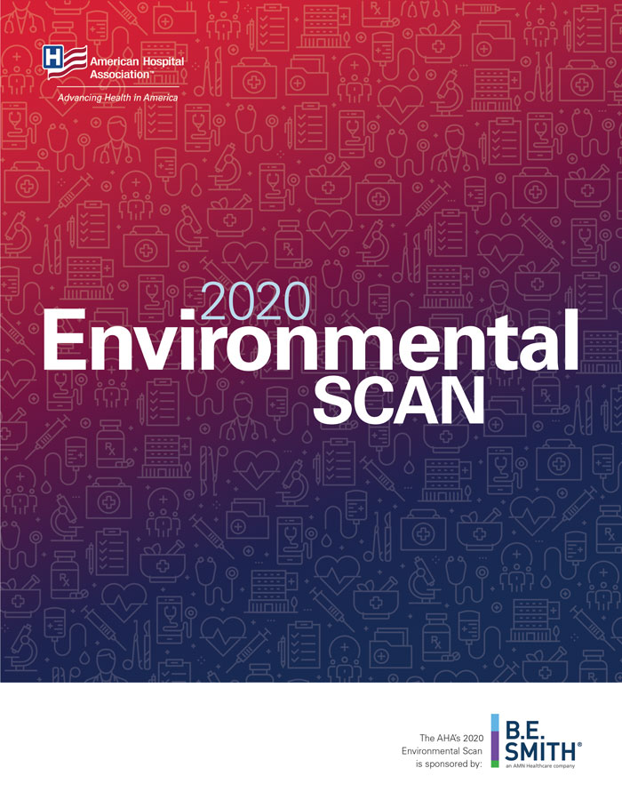 2020 Environmental Scan Cover
