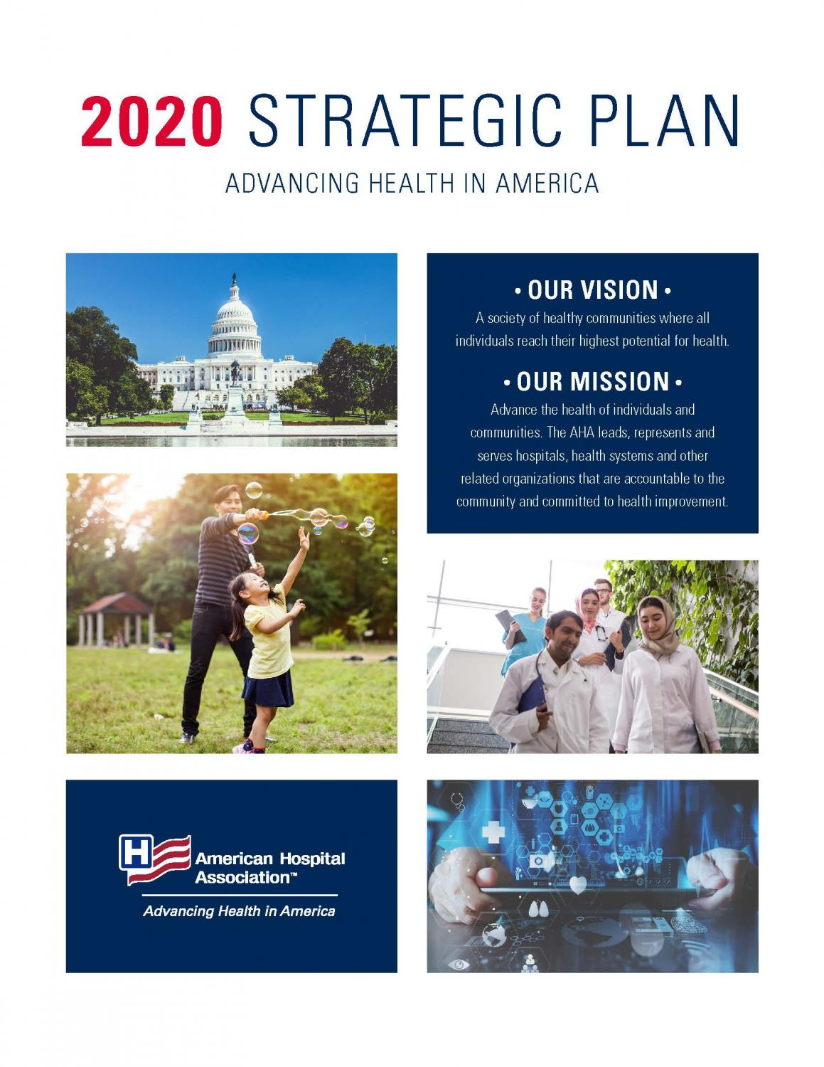 AHA 2020 Strategic Plan cover