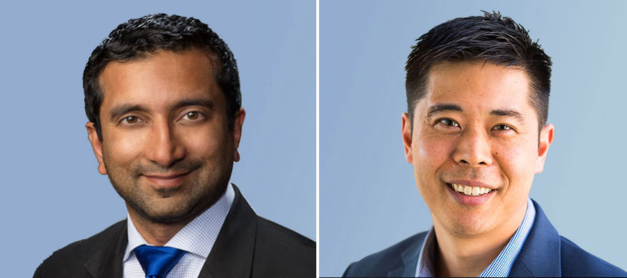 Jay Bhatt and Andy Shin headshots
