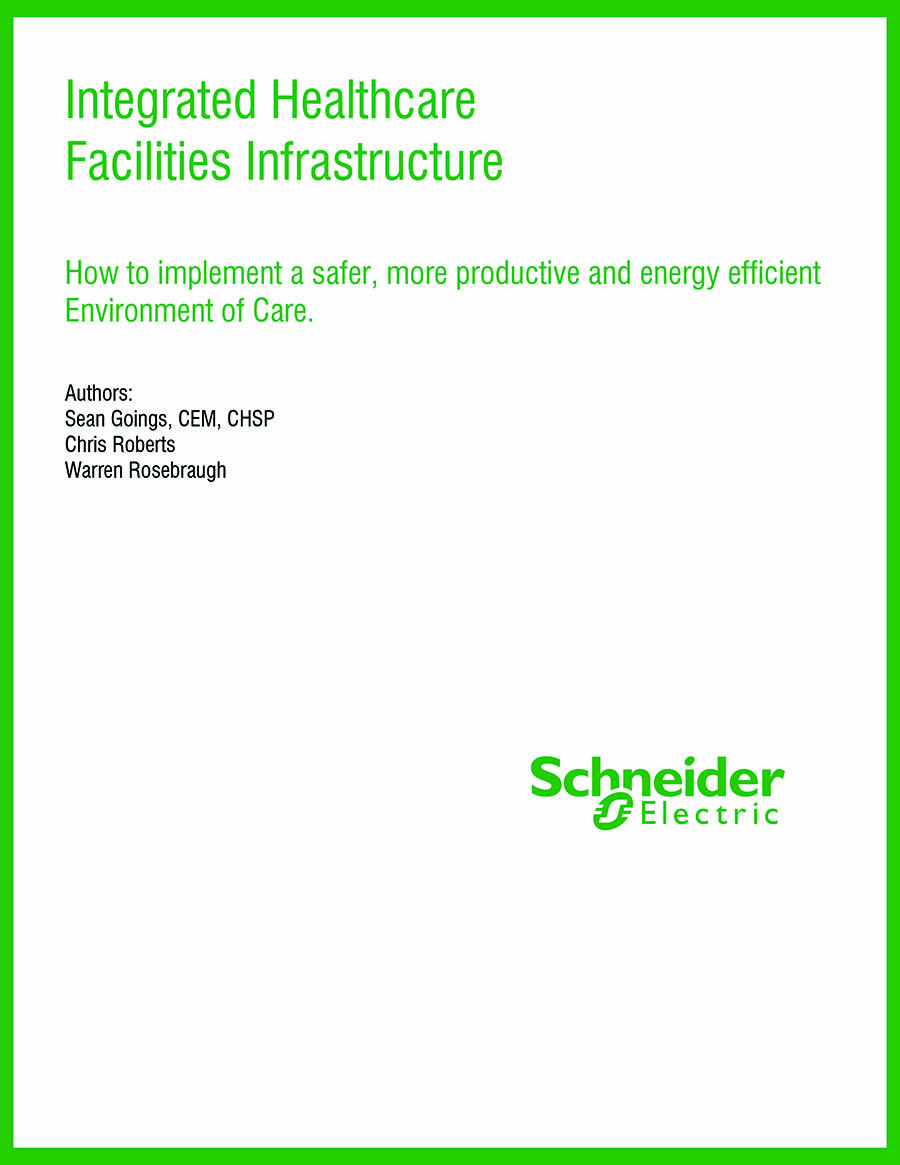 Schneider Electric Integrated Healthcare Facilities