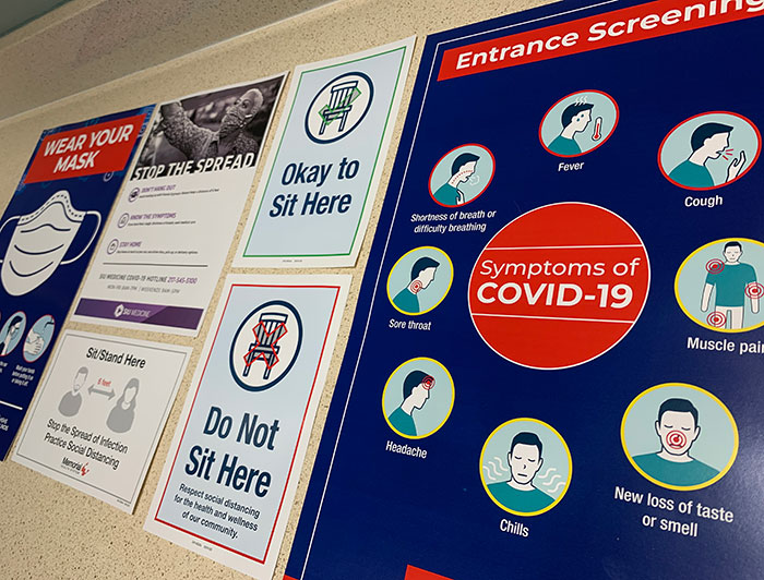 covid-19 info posters