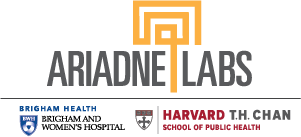 Logo for Ariadne Labs with Brigham Health and Harvard