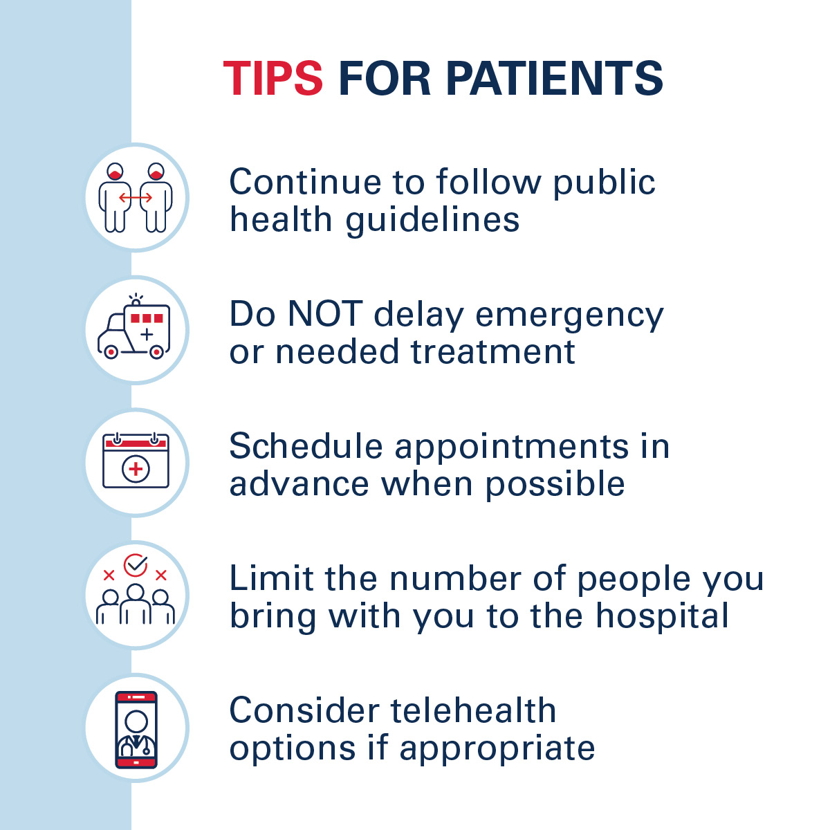 AHA covid19 toolkit tips for patients FB
