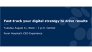 A sound digital strategy is essential for driving results, but it can be challenging to know how to prioritize digital initiatives for the greatest impact. Hear how Lexington Regional Health Center, a Critical Access Hospital in central Nebraska, moved quickly under the leadership of CEO Leslie Marsh to assess the organization's digital readiness, identify priorities and launch a strategy for success – all at lightning speed.