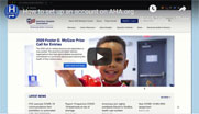 Watch and learn how to create your AHA account and link your organization.