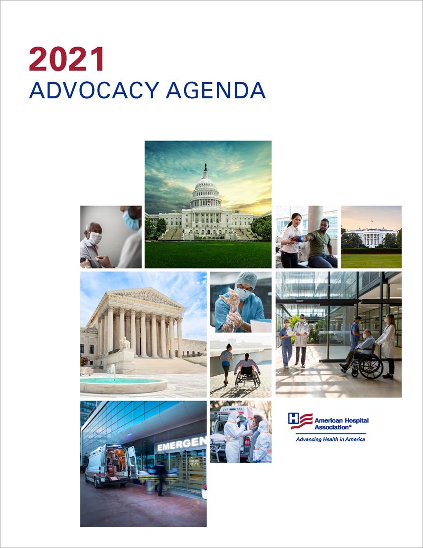 2021 AHA Advocacy Agenda Cover
