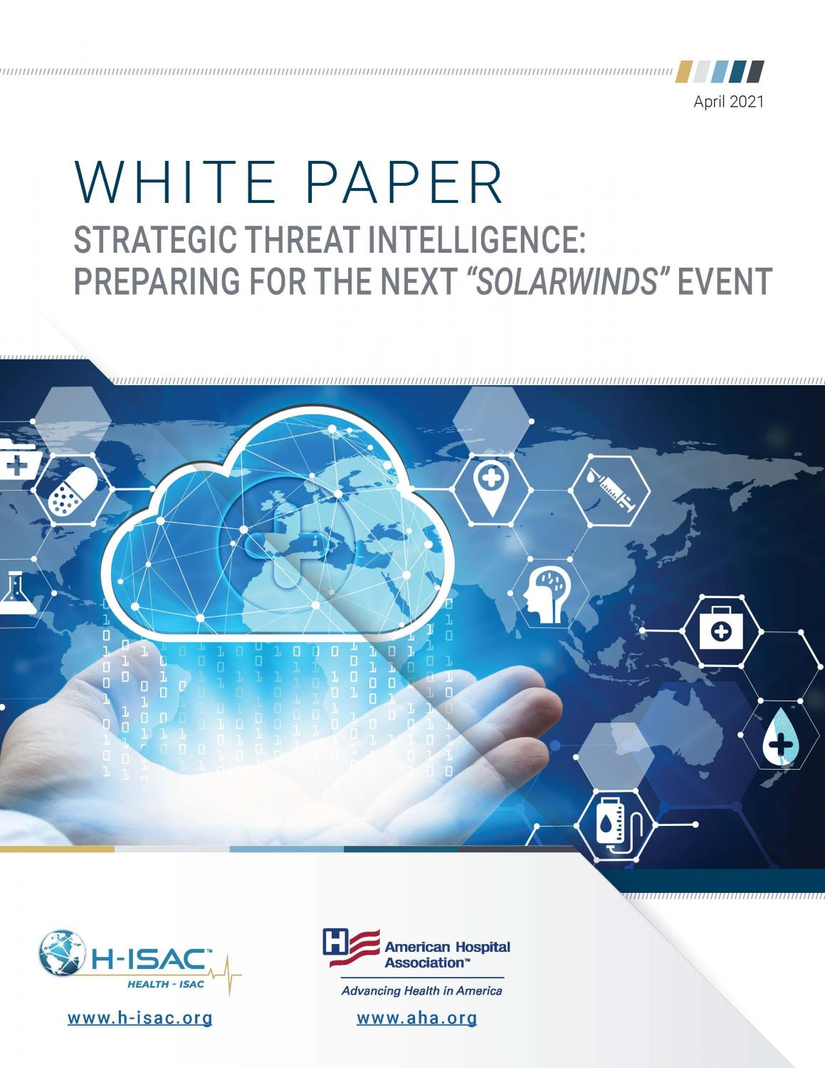 White Paper: Strategic Threat Intelligence: Preparing for the Next Solarwinds Event page 1