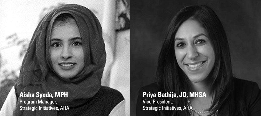 Priya Bathija and Aisha Syeda