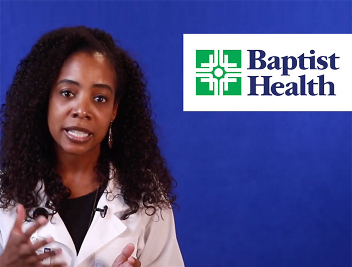 Baptist Health pediatrician Janell Vinson, M.D., discusses why she got vaccinated in this video still