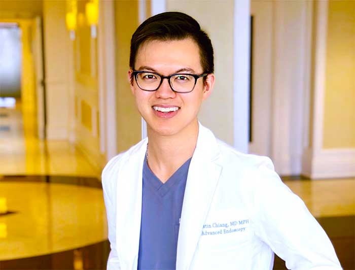 Dr. Austin Chiang of Jefferson Health