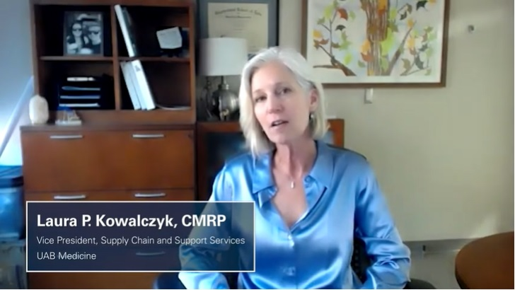 #MyWhy - Laura P. Kowalczyk, CMRP, Vice President, Supply Chain and Support Services, UAB Medicine.
