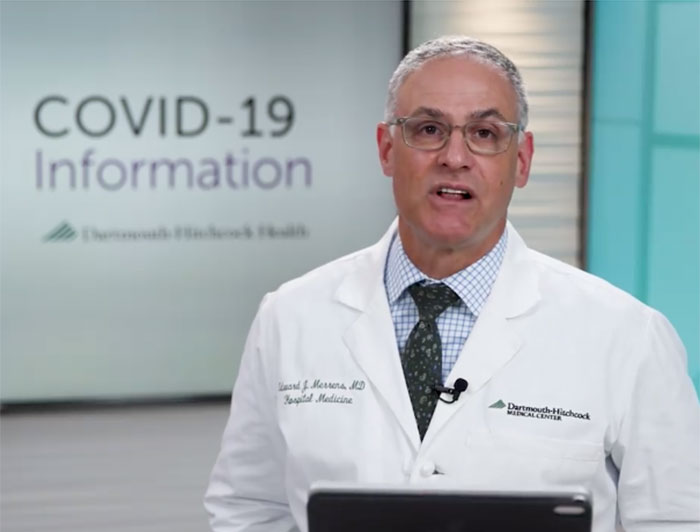 Edward J. Merrens, M.D., chief clinical officer at D-HH