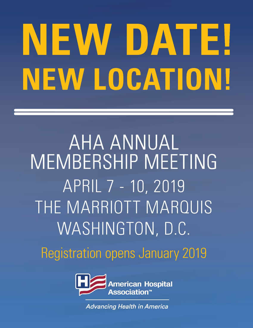 2019 Annual Meeting Save the Date Image