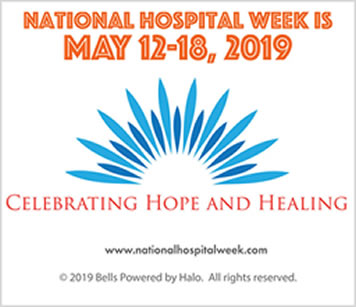 2019 National Hospital Week Logo