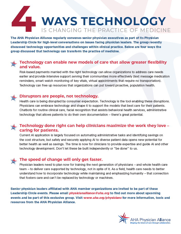 Four Ways Technology is Changing the Practice of Medicine