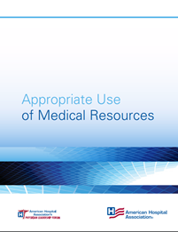 Appropriate Use of Medical Resources cover