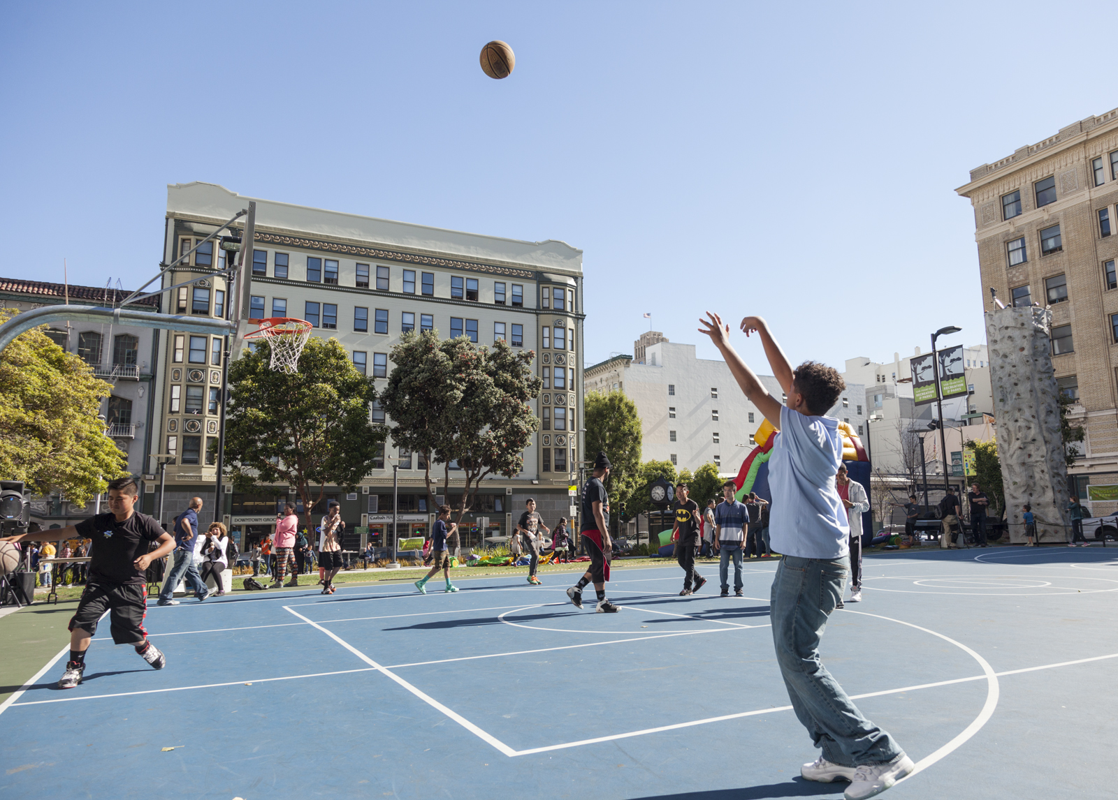 boeddeker park basketball court