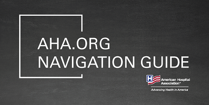 AHA.org Navigation Guide cover