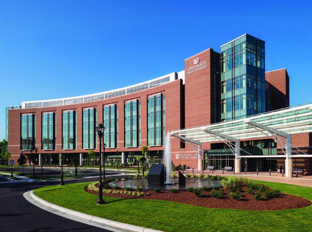 Moses Cone Hospital in Greensboro, N.C.