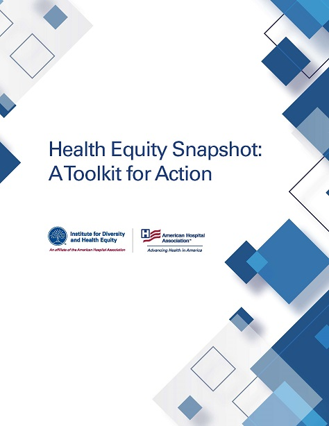 Health Equity Snapshot cover