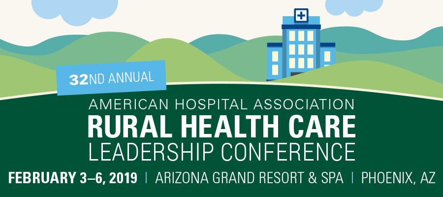 AHA Rural Health Care Leadership Banner
