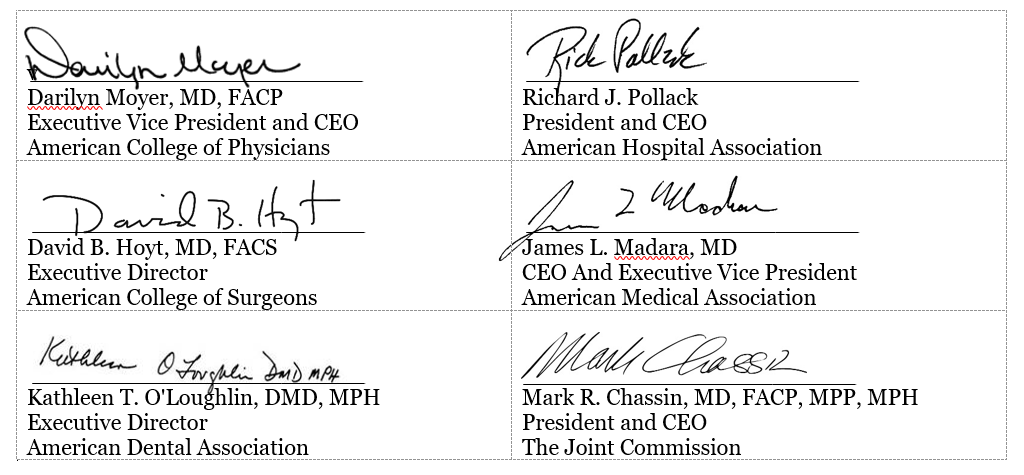 Multiple Signatures