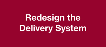 Redesign Delivery System image