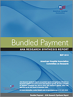 Bundled Payment: AHA Research Synthesis Report