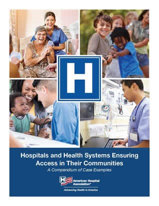 Hospitals and Health Systems Ensuring Access in Their Communities cover