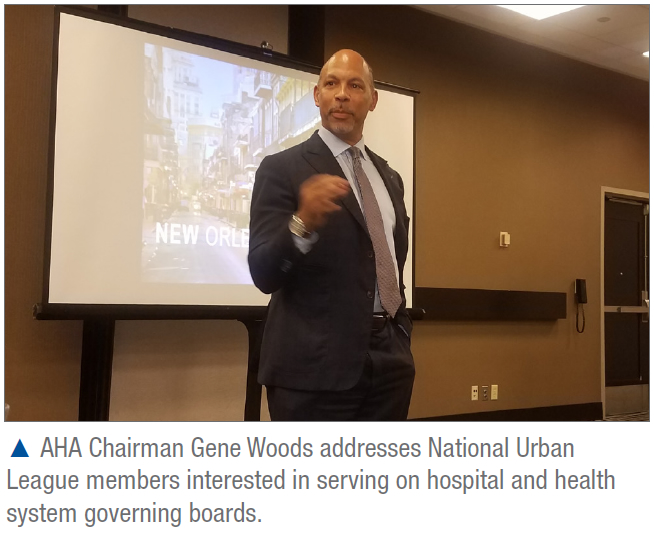 Eugene Woods at National Urban League